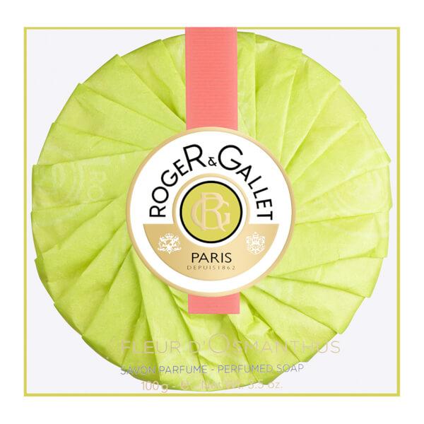 Roger&Gallet Fleur d'Osmanthus Round Soap Travel Box 100 g