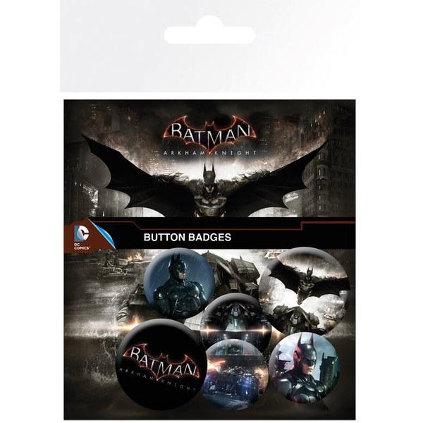 Lot de Badges Batman Arkham Knight - Assortiment