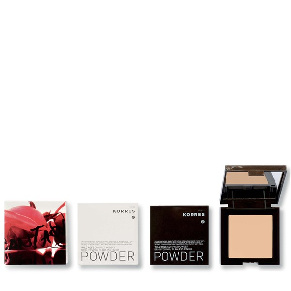 Korres Colour Wild Rose Compact Powder