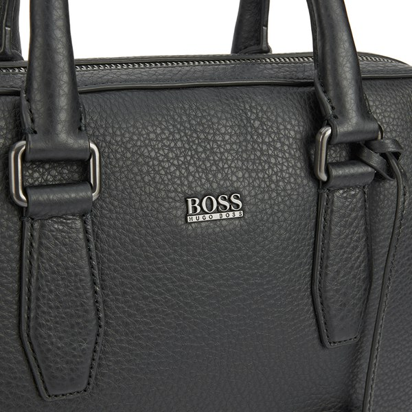 Boss Hugo Men S Malton Work Bag Black Image 3
