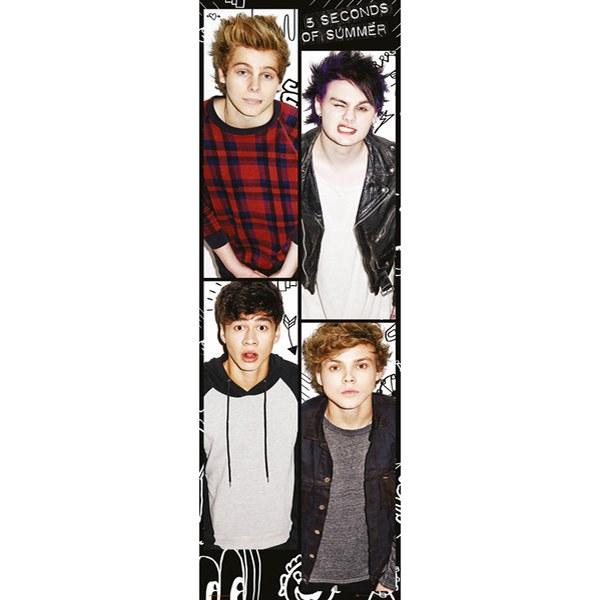 5 Seconds of Summer Band - Door Poster - 53 x 158cm
