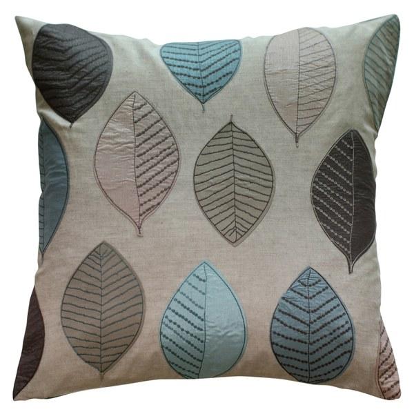 Leaf Cushion - Natural