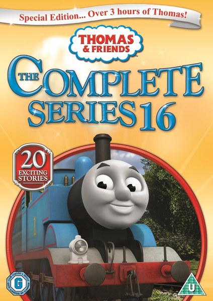 Thomas Amp Friends The Complete Series 16 Dvd Zavvi