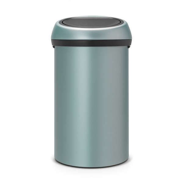 brabantia 60 litre touch bin metallic mint homeware. Black Bedroom Furniture Sets. Home Design Ideas