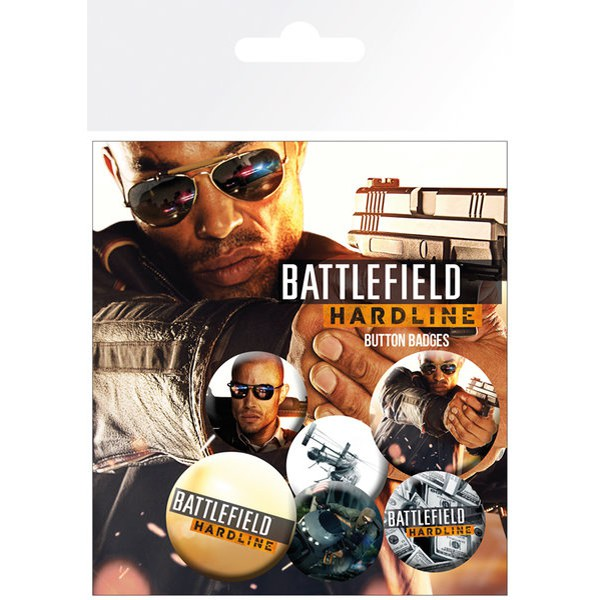 Lot de Badges Battlefield Hardline Soldiers
