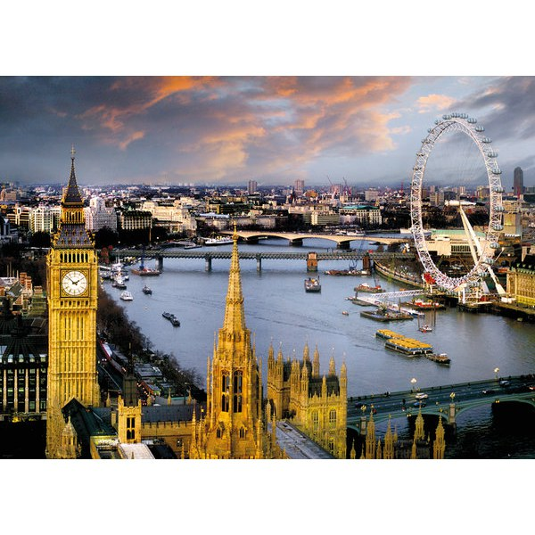 London Reichold The Thames - Giant Poster - 100 x 140cm
