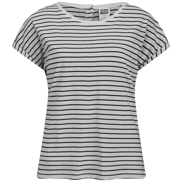 vero moda women 39 s stripe t shirt black stripe womens