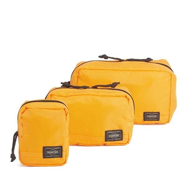 a429ebf45d Porter-Yoshida Men s Pouch Bag - Yellow  Image 1