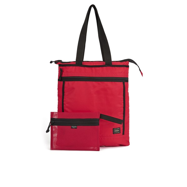 f33c71dfe6 Porter-Yoshida Men s Tote Bag - Red  Image 1
