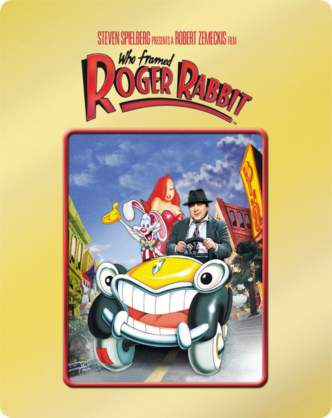 who framed roger rabbit zavvi exclusive gold edition steelbook image 2 - Who Framed Roger Rabbit Dvd