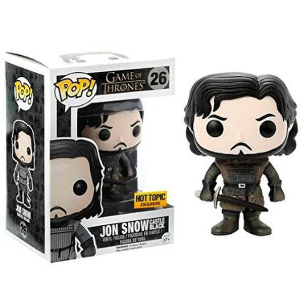 Game of Thrones Jon Snow Castle Black Hot Topic Exclusive Pop! Vinyl Figure
