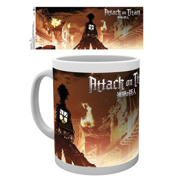 Attack on Titan Key Art - Mug