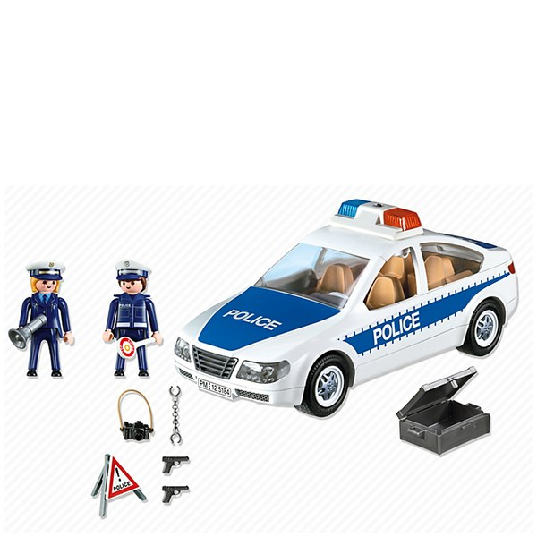 playmobil police car 5184 image 3 - Playmobile Police