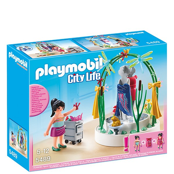 Playmobil shopping centre clothing display 5489 toys for Cuisine 5582 playmobil