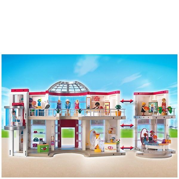 playmobil shopping centre 5485 toys  thehut