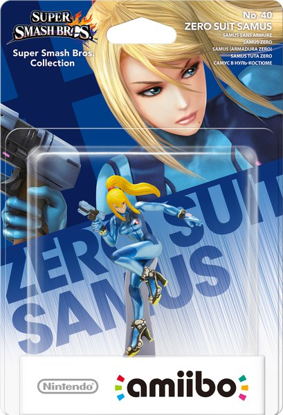 Amiibo Super Smash Bros Collection Zero Suit Samus Games