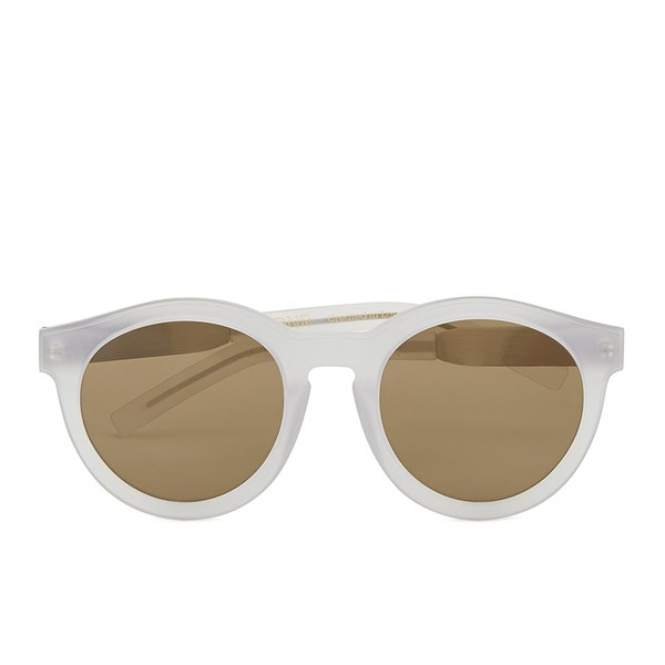 LDNR Women's Compton Sunglasses - Matte Crystal/Brown