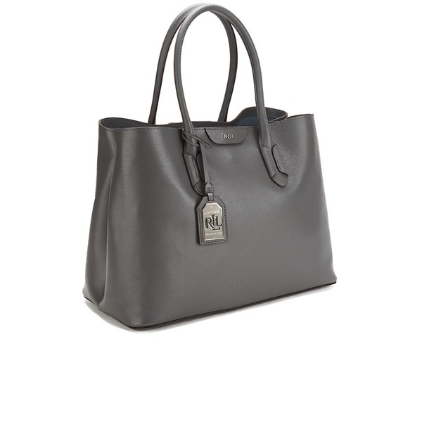 cab418fd2 Lauren Ralph Lauren Women's City Tote Bag - Steel Grey: Image 2