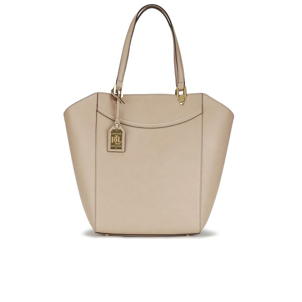 e37641cba8 Lauren Ralph Lauren Women s Lexington Tote Bag - Stone  Image 1
