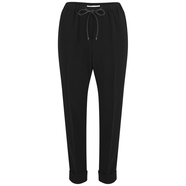 Alexander Wang Women's Cropped Hem Drawstring Pants - Nocturnal