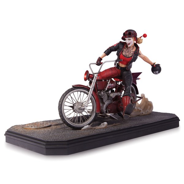 DC Collectibles DC Comics Batman Gotham City Garage Harley Quinn 6 Inch Statue