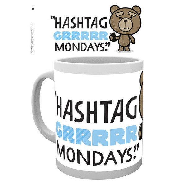 Ted 2 Mondays - Mug
