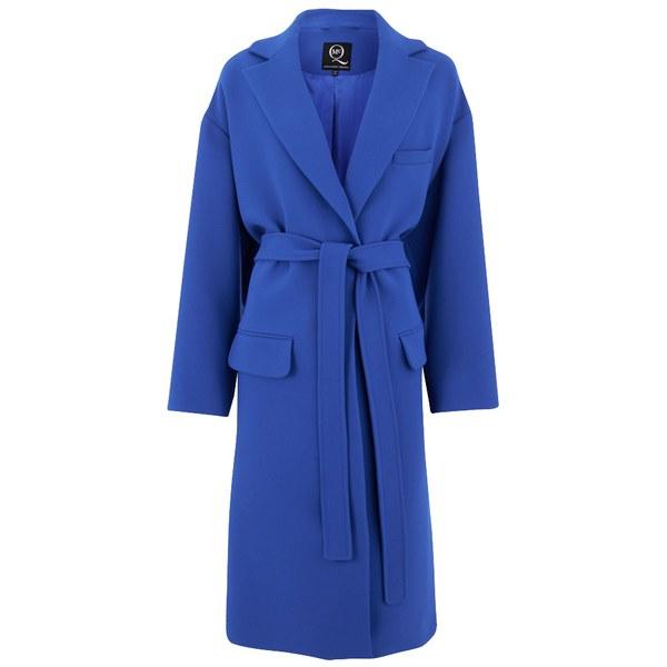McQ Alexander McQueen Women's Oversized Coat - Klein Blue