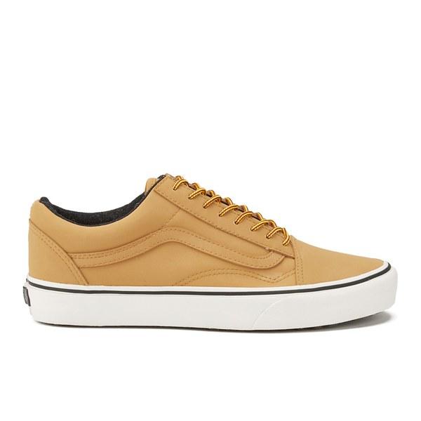 06714546e4f Vans Men s Old Skool MTE Leather Trainers - Honey Mens Footwear ...