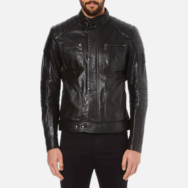 Belstaff Men's Weybridge Biker Jacket - Black