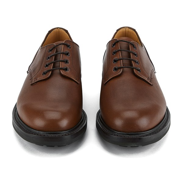 Mens Tan Leather Shoes Uk