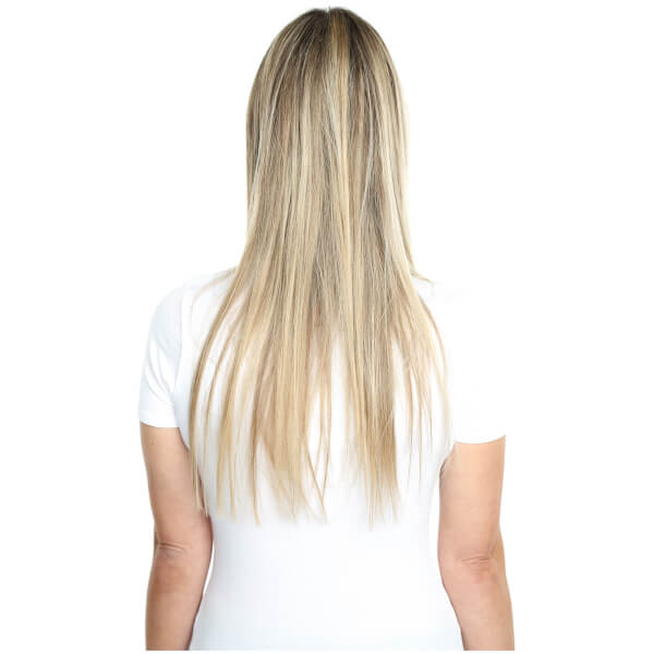 Beauty Works Deluxe Clip In Hair Extensions 18 Inch La Blonde 613
