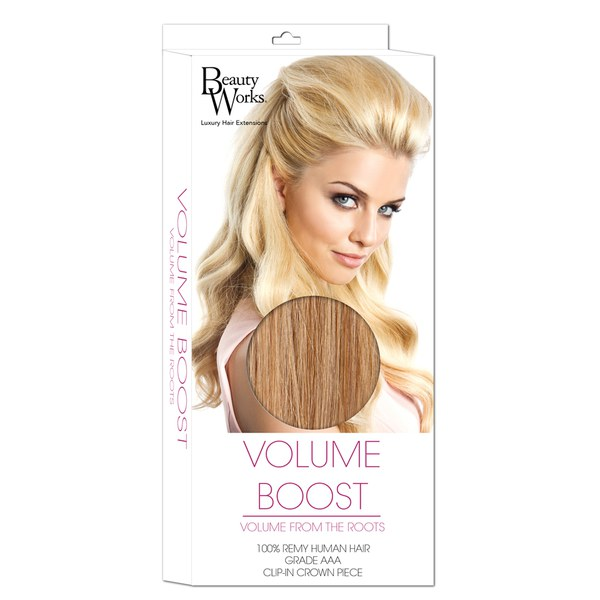 Beauty Works Volume Boost Hair Extensions - 613/16 California Blonde