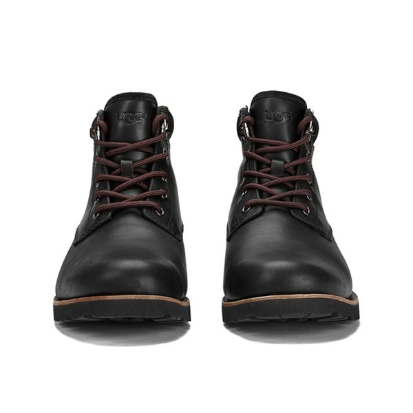ugg mens seton tl waterproof leather lace up boots