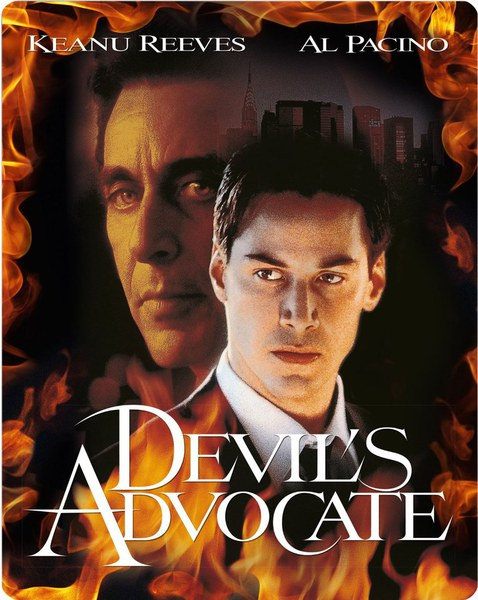 a comparison of the movies end of days devil advocate and sprawn The movie armageddon also had huge gaping plotholes, but at least the movie was fun gabriel byrne's performance of satan having a talk with arnie is one of the highlights of the film it was a good scene although it begs comparison with a similar (and better) scene found in the devil's advocate.