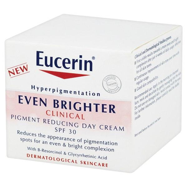 eucerin even brighter clinical pigment reducing day cream. Black Bedroom Furniture Sets. Home Design Ideas