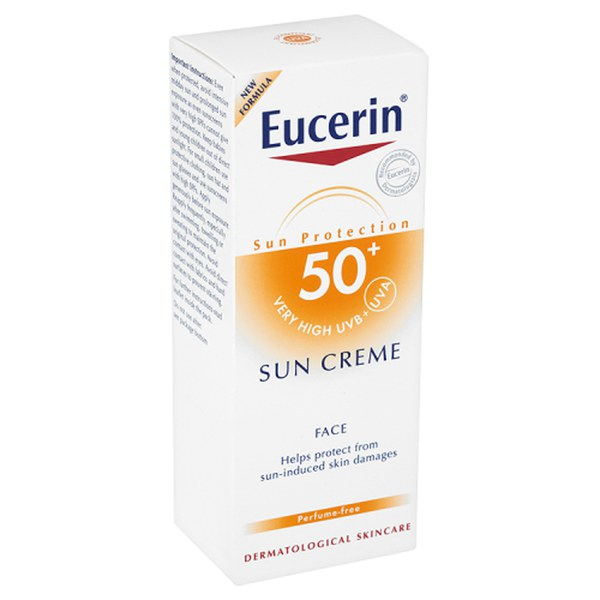 The Hut Group Acquires Illamasqua: Eucerin® Sun Protection Sun Creme Face 50+ Sehr Hoch (50ml