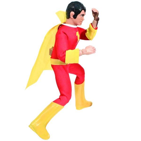 Mego DC Comics Superman Super Power Shazam 8 Inch Action Figure