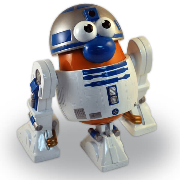 Figurine Mr Patate R2-D2 Star Wars - Poptater