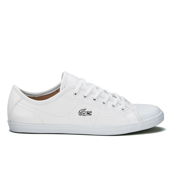 Lacoste Women's Ziane CRC Trainers - White: Image 1