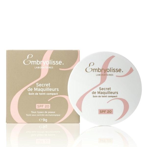 Base compacta Bronceado Secreto de los maquilladores de Embryolisse - Natural (9 g)