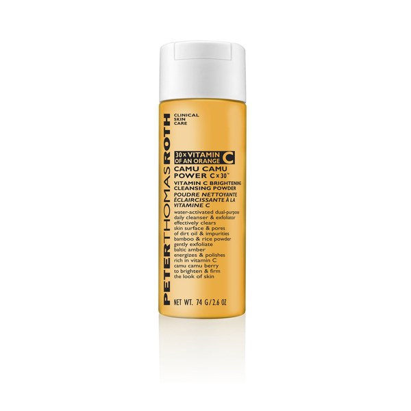 Peter Thomas Roth Camu Power Brightening Polvos Limpiadores e Iluminadores;