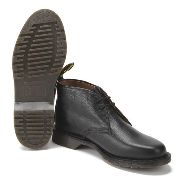 Dr. Martens Men's Oscar Sawyer New Nova Leather Desert Boots - Black: Image  6
