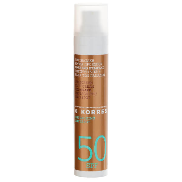 Crema antimanchas SPF30 Red Grape de KORRES (50ml)