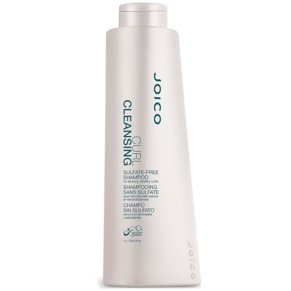 Joico Curl Cleansing Sulphate-Free Shampoo for Bouncy, Healthy Curls (1000ml)