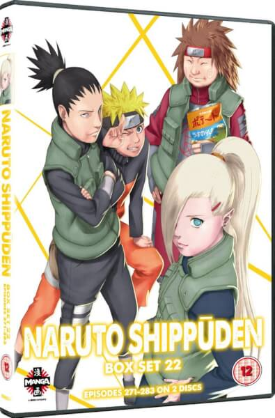 Naruto Shippuden Box Set 22 (Episodes 271-283)