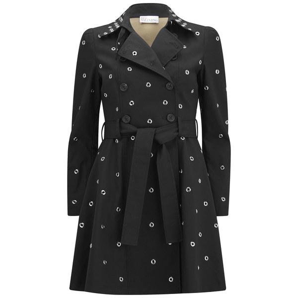 REDValentino Women's Trench Coat - Black