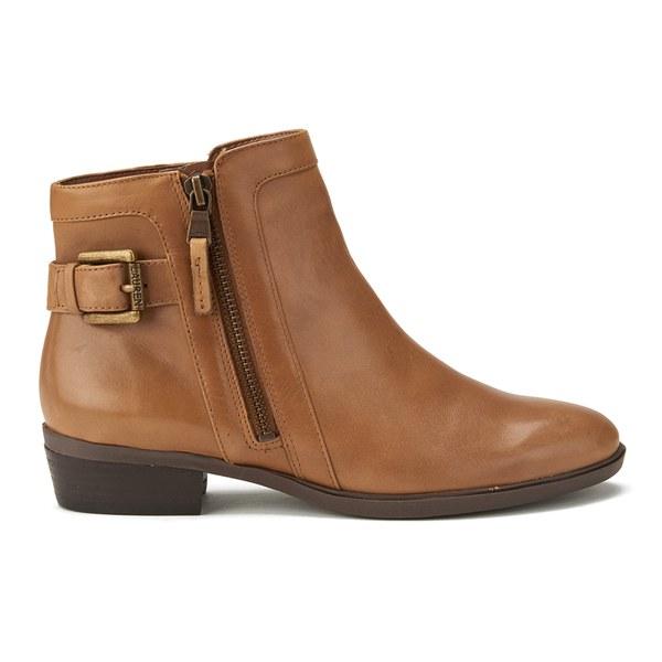 Lauren Ralph Lauren Women's Shelli Leather Ankle Boots - Polo Tan ...