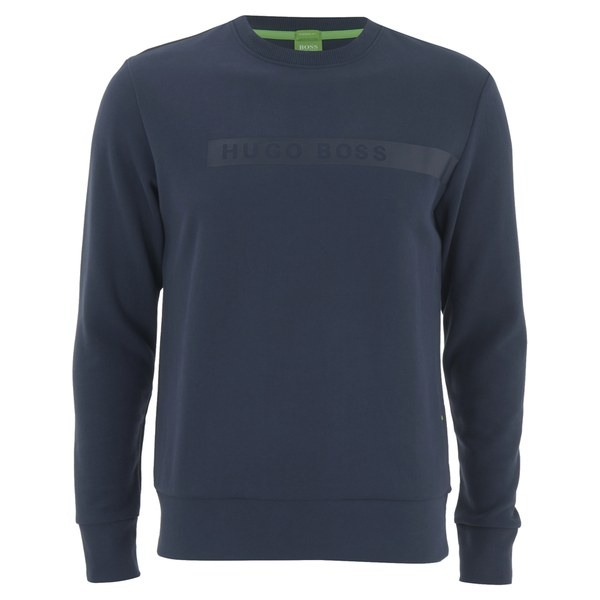 BOSS Green Men's Salbo Sweatshirt - Navy
