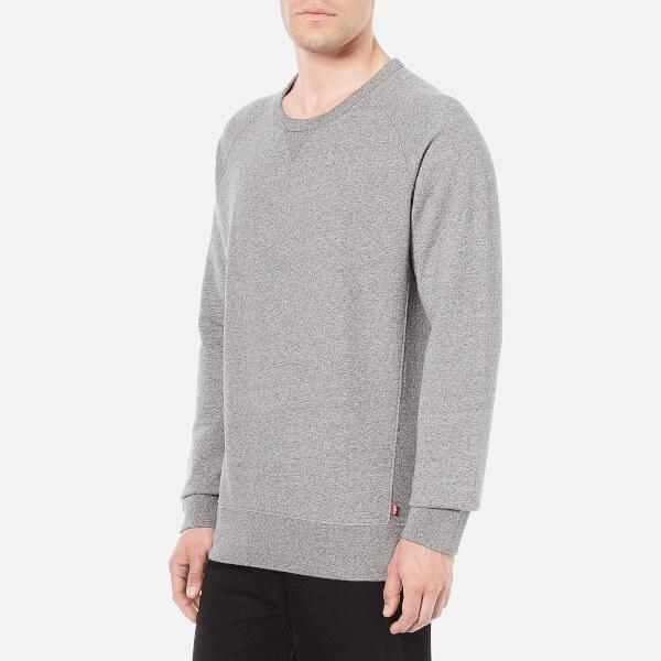 Levi's Men's Original Crew Neck Sweatshirt - Medium Grey Heather: Image 2