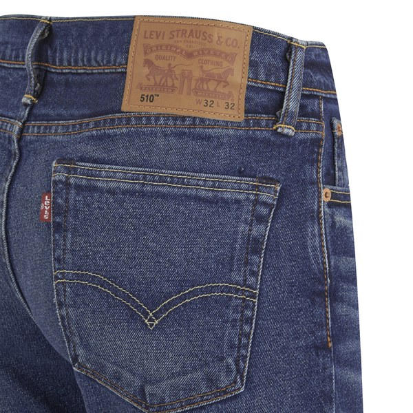 Levi S Men S 510 Skinny Fit Denim Jeans Tarnished Indigo